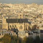 Aussicht vom Notre Dame in Paris