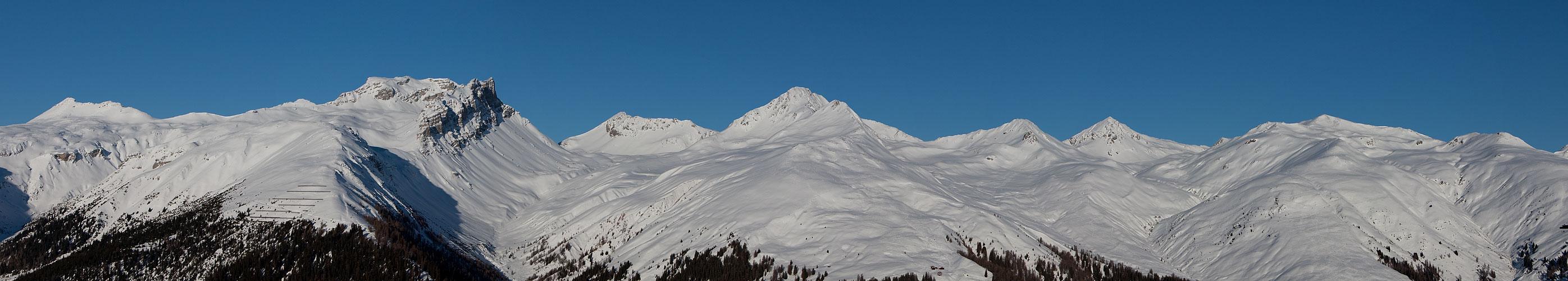 Aussicht vom Rinerhorn
