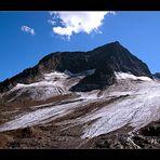 aussicht vom Stubai Gletscher