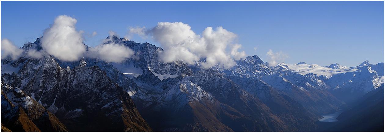 Aussicht von der Aifnerspitz (2786m)