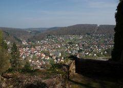 Aussicht von der Minneburg