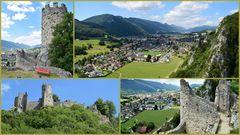 Aussicht von der Ruine Neu Falkenstein