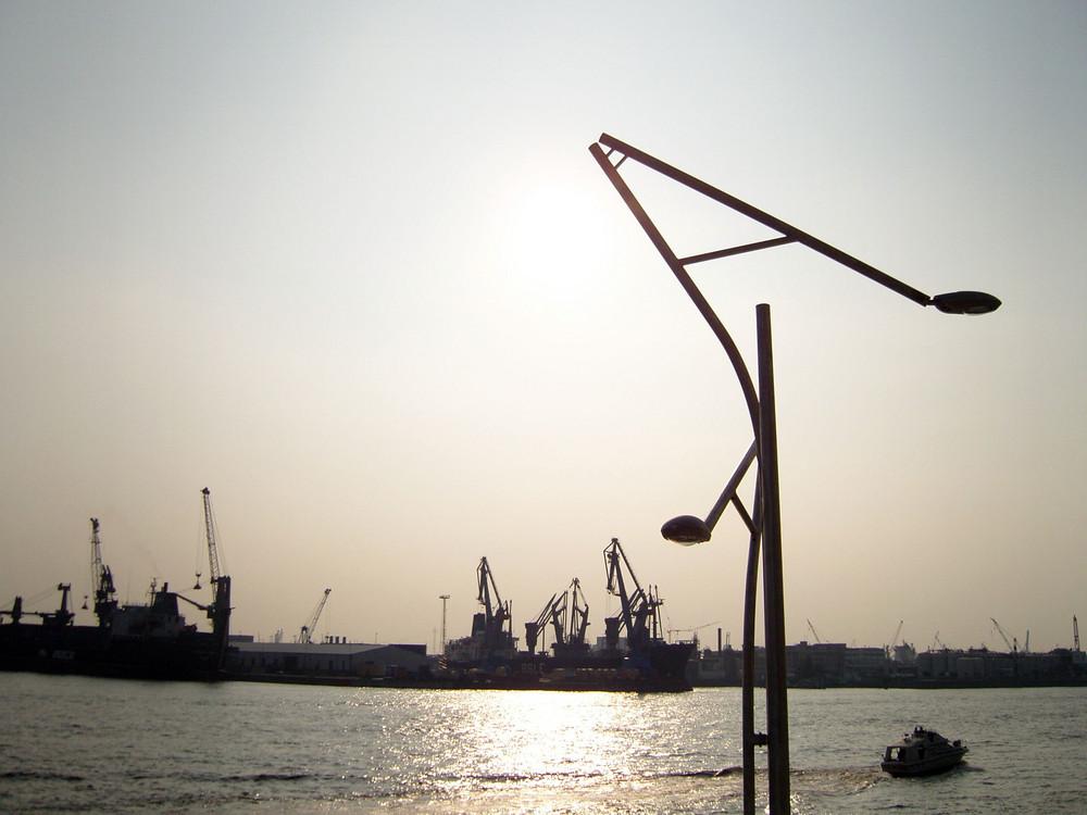 Aussicht von Hafen-City