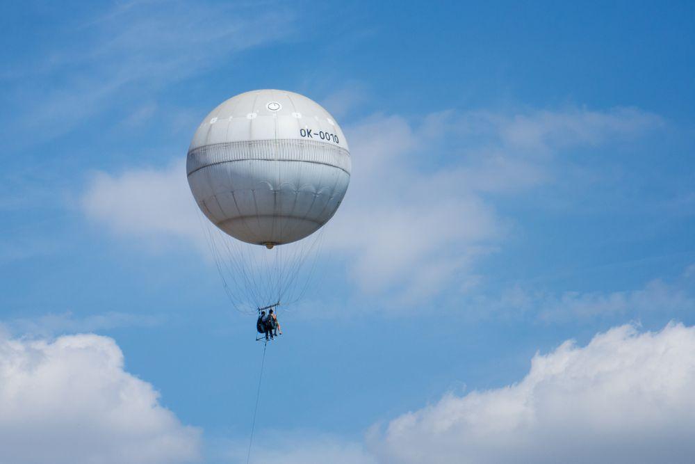 Aussichtsballon in Prag