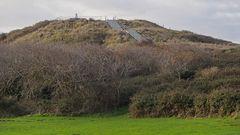"""Aussichtsdüne """"Hoge Hil"""" bei Domburg, Zeeland (NL)"""