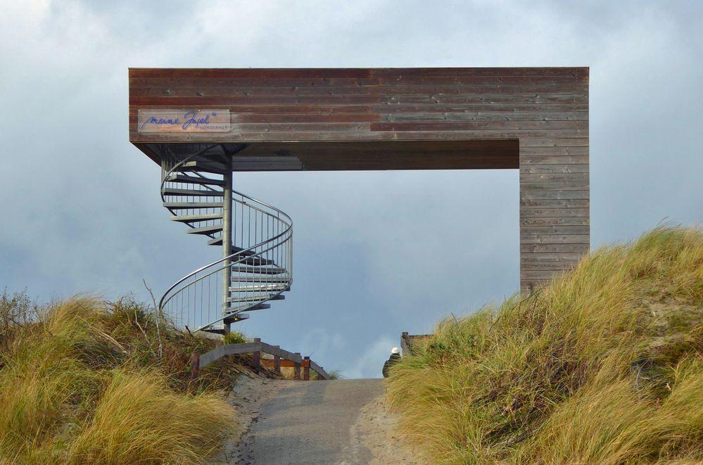 """Aussichtsplattform """" Waldweg """""""