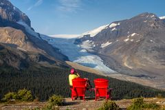 Aussichtsplatz am Wilcox Pass, Canada