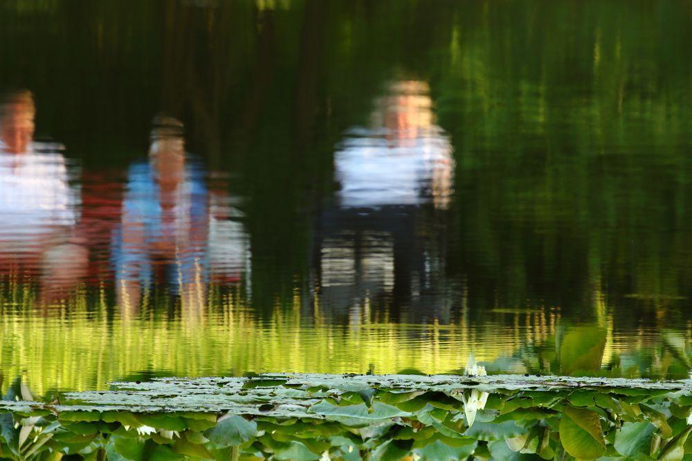 Ausspannen am Teich