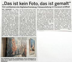 Ausstellung Curanum, Bad Nenndorf
