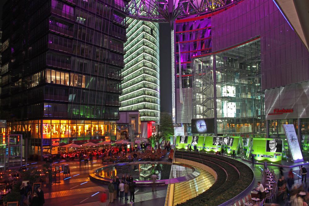 Ausstellung im Sony Center