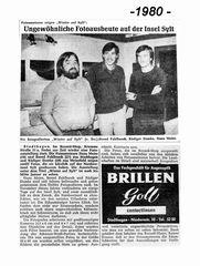 """Ausstellung """"Sylt im Winter 1980"""""""