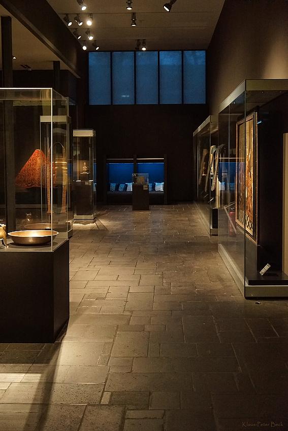 Ausstellungsraum im Museum Schnütgen