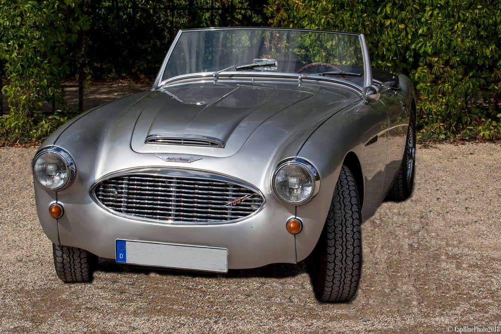 Austin Healey 100 -6  GB 1956-59 bei Classic Cars Schwetzingen 2018
