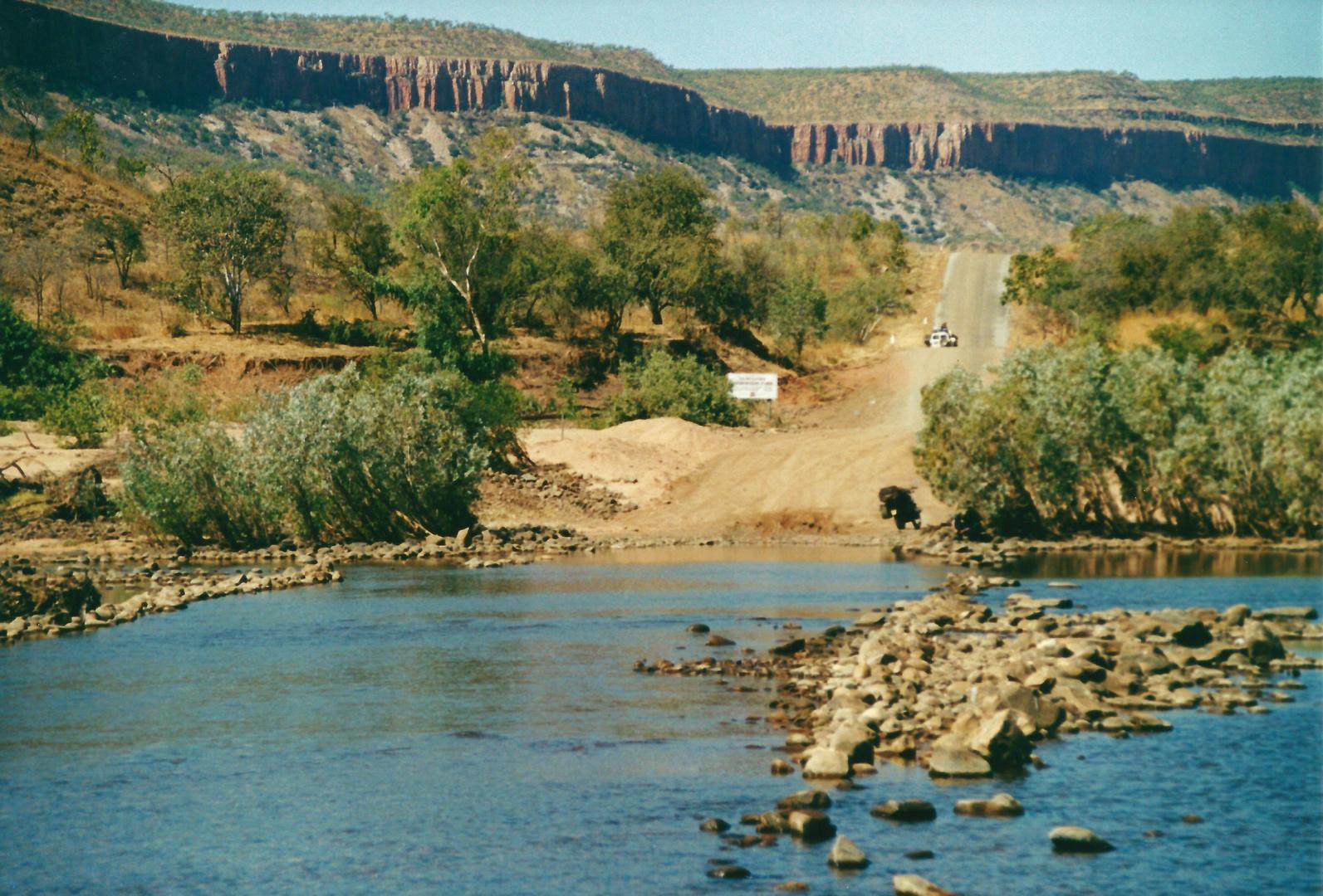 Australien (2002), Pentecost River