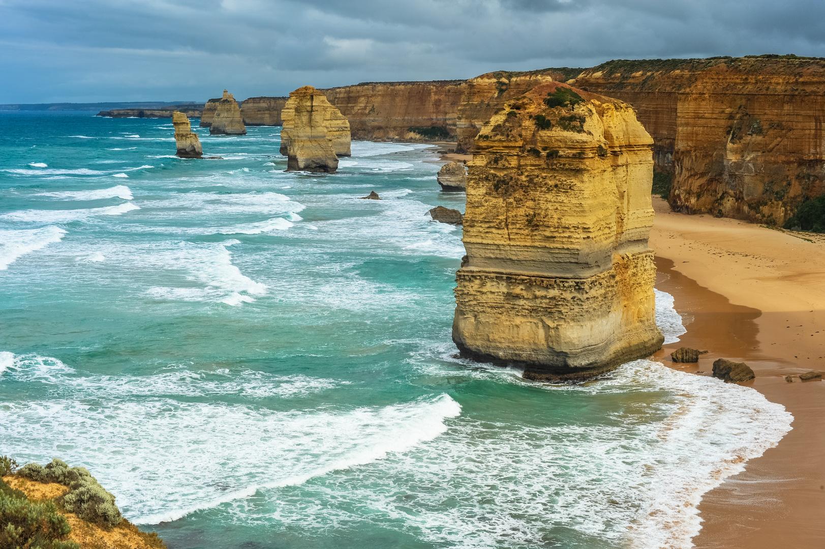 Australien 2012: Victoria, Die zwölf Apostel im Morgenlicht #3