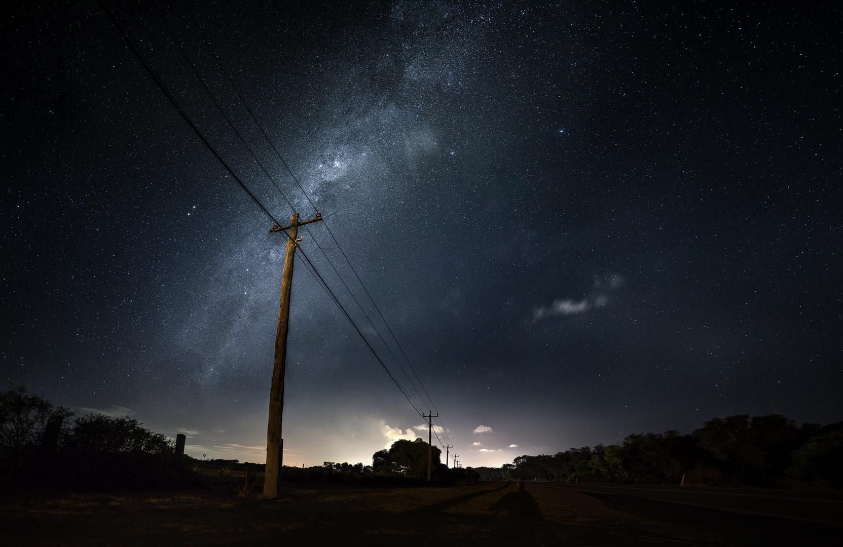 * Australien Milky Way *