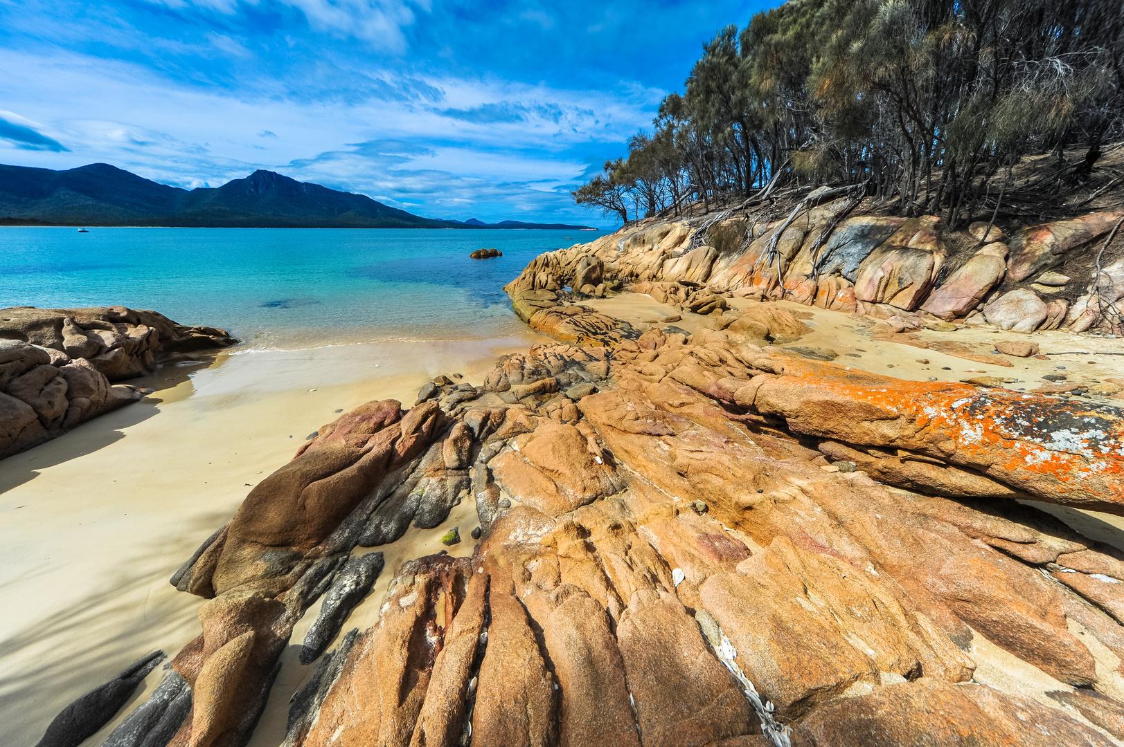 Australien: Tasmanien, Freycinet National Park