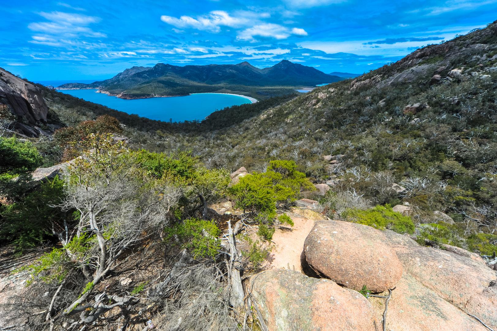 Australien: Tasmanien, Freycinet N.P. Wineglass Bay