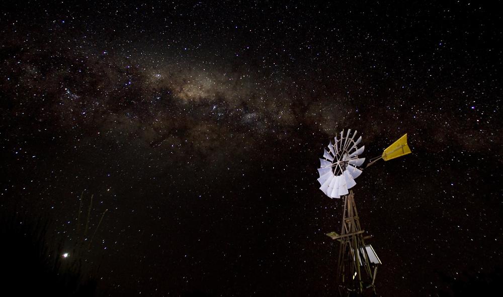 Australischer Nachthimmel