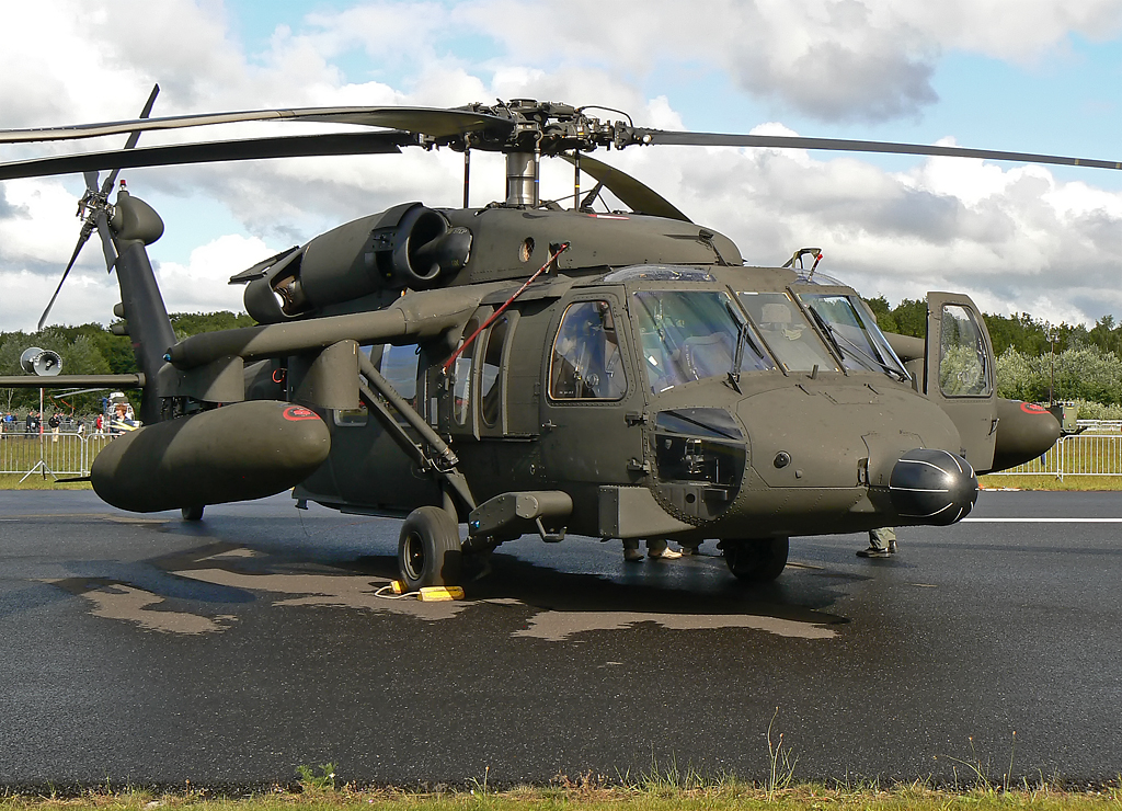 Austria Airforce Sikorsky S-70 Black Hawk 6M-BD