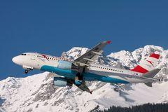 Austrian Airlines Airbus A320 - MSN 1150 - OE-LBR Bregenzer Wald