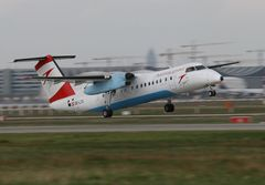 Austrian arrows De Havilland Canada DHC-8, Registrierung OE-LTG