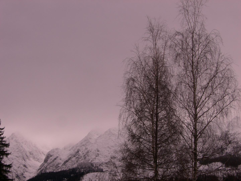 Austrian winter lanscape - Grimming