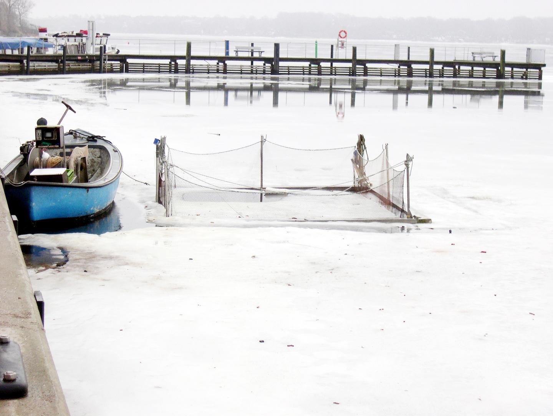 Auszeit - Fischerboot auf der Schlei in Schleswig