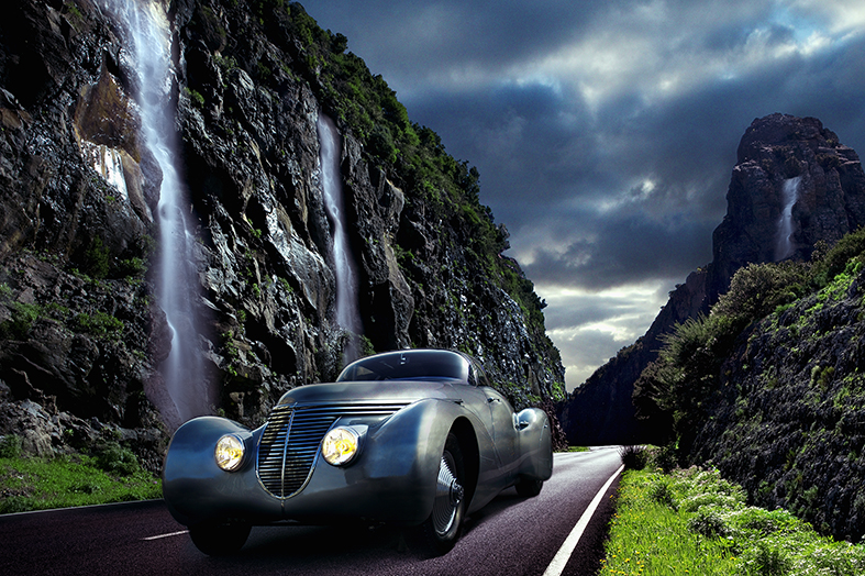 Auto auf Gomera 01