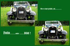 Auto-Motor als Gegenstandliches Foto oder als Bild