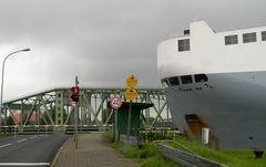 Auto-Sun in Bremerhaven