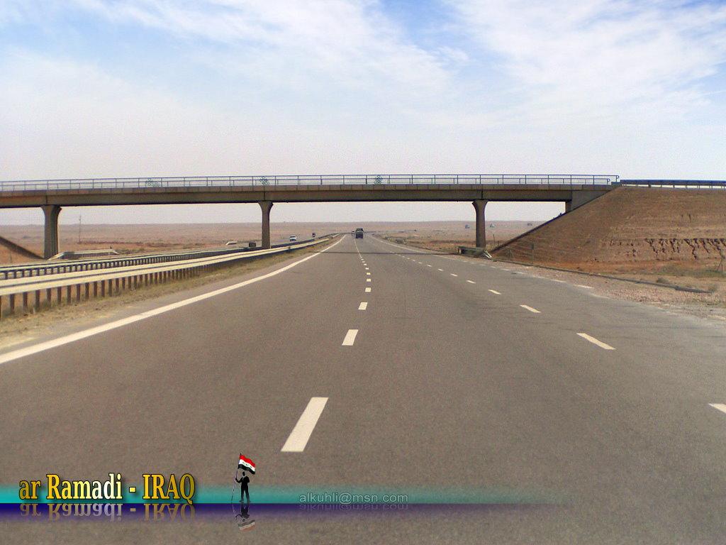 Autobahn in irak