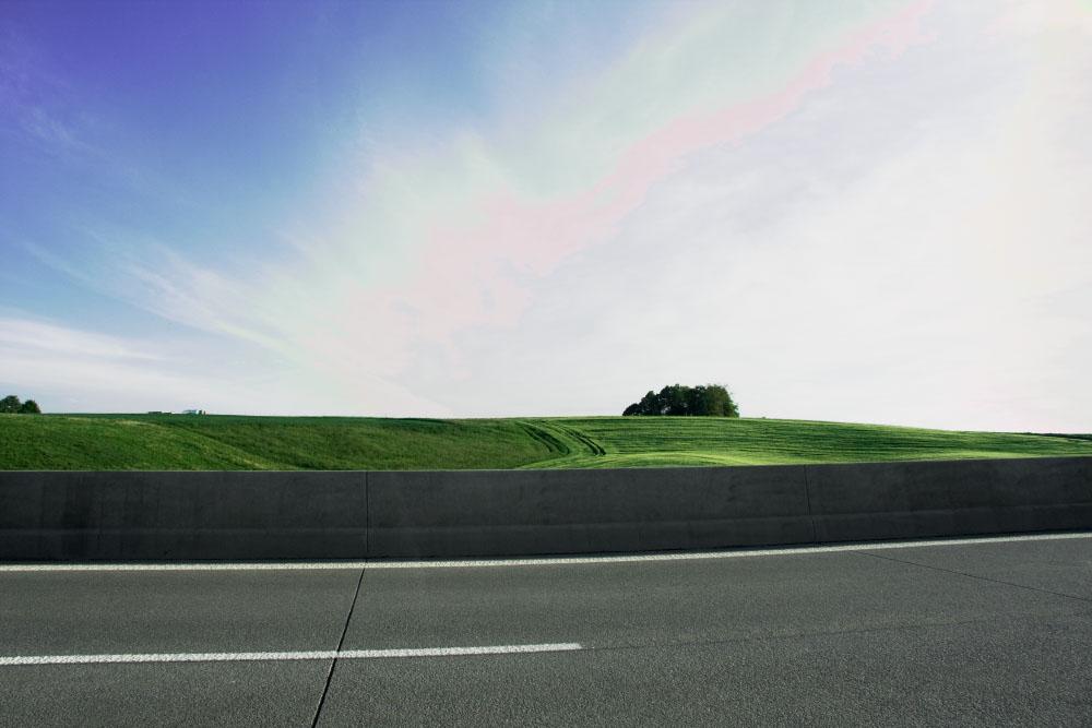 Autobahn langeweile