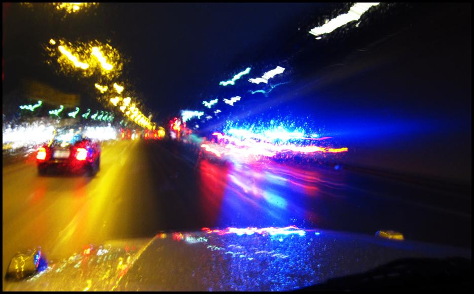 Autobahn Lichter