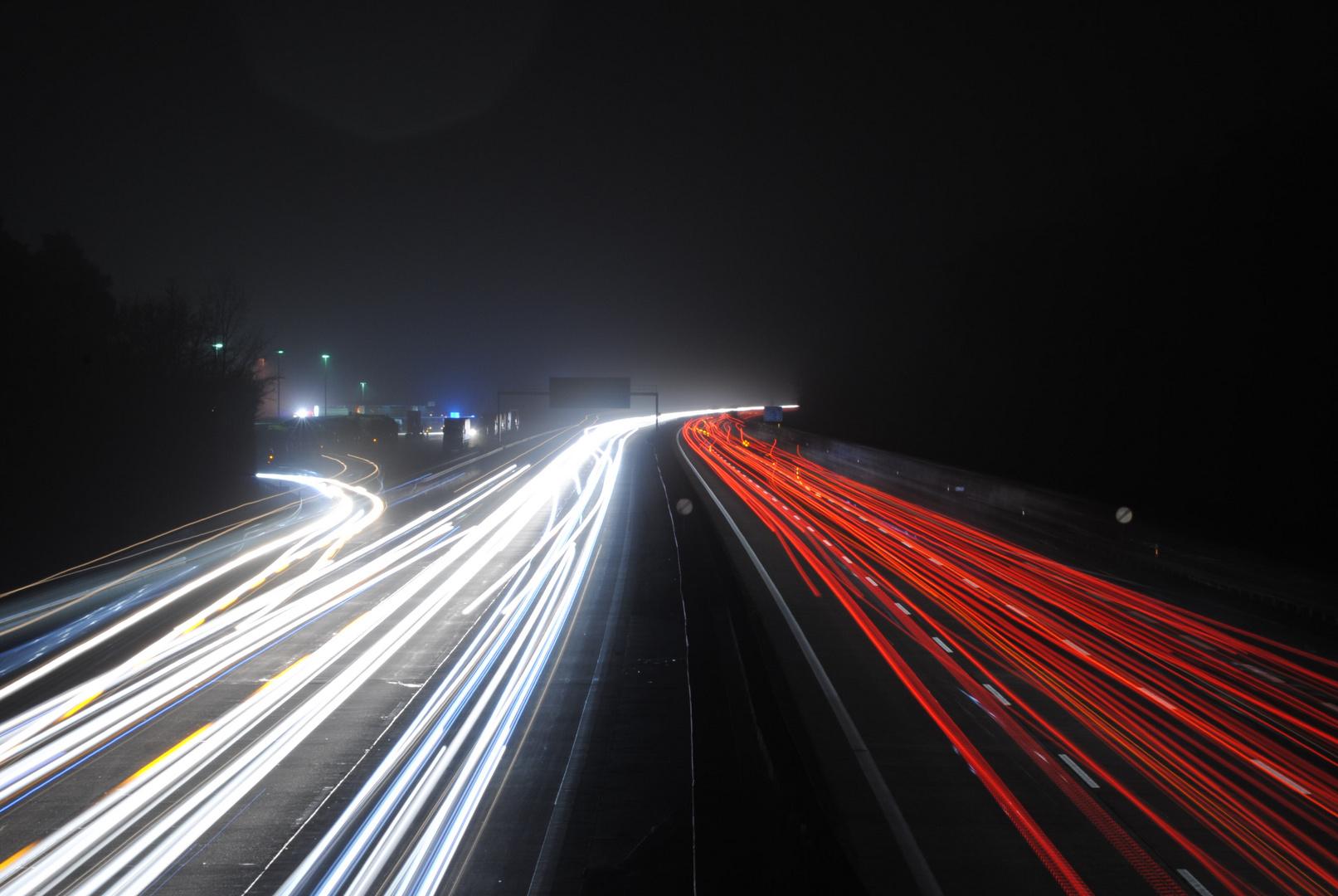Autobahn @ Night 2
