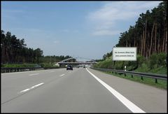 Autobahn Werbung...