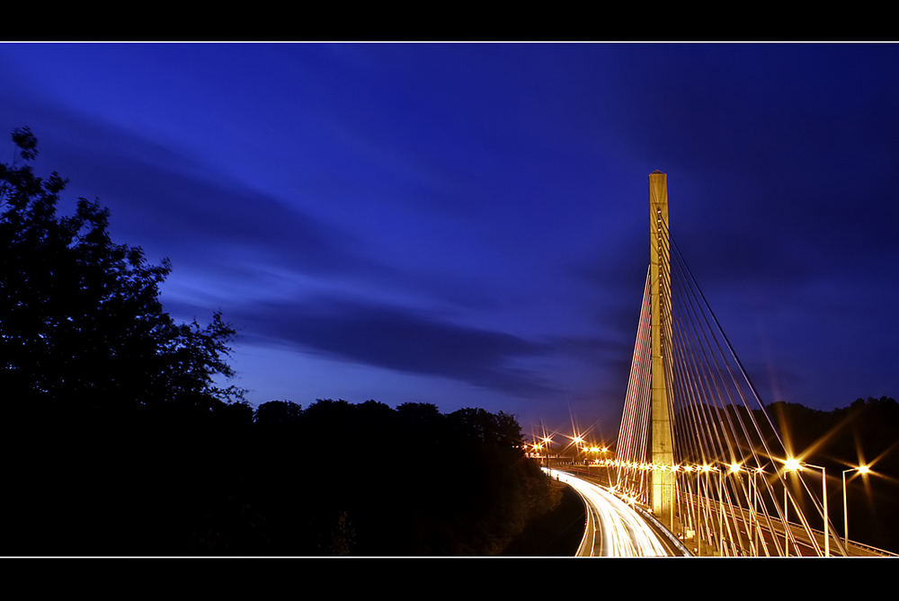Autobahnbrücke über Hesperange