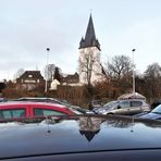 Autodach als Spiegel...