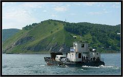 Autofähre am Baikal...