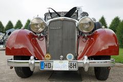 Autogesichter 1938 - Maybach SW38