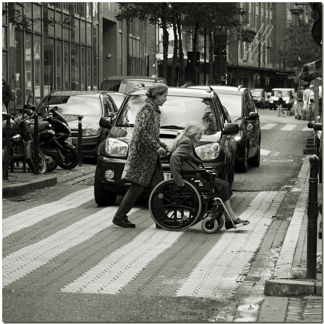 Automne à Bruxelles X La chaleur de l'humanité