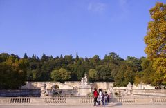 Automne au Jardin de la Fontaine, Nîmes