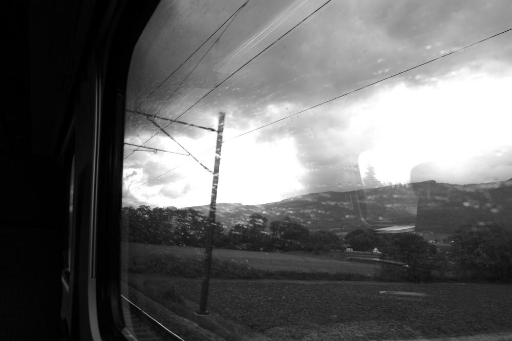 automne, en train