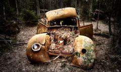 Automobile im Herbst