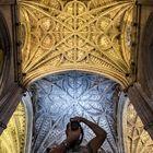 Autoretrato en la Catedral de Sevilla