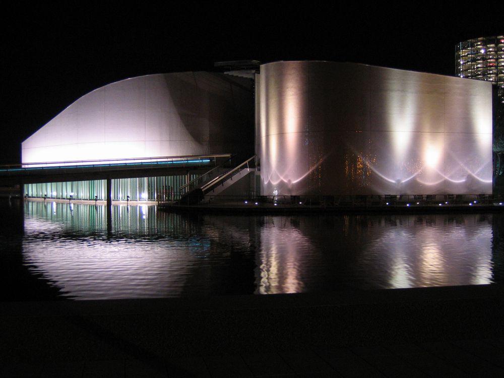 Autostadt Wolfsburg - Bei Nacht