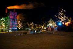 Autostadt Wolfsburg im Dezember