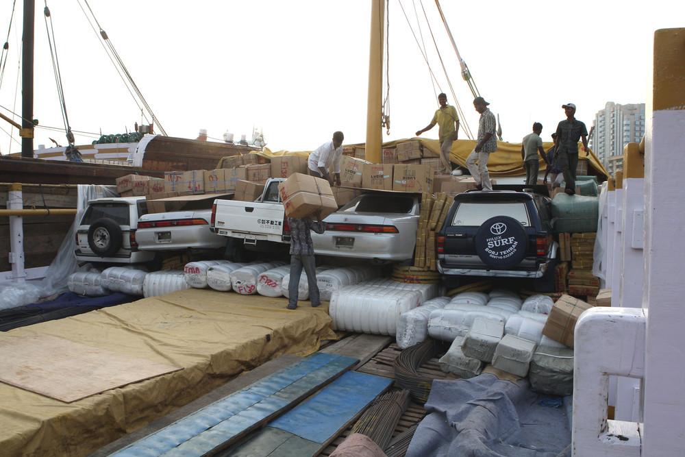 Autotransport nach Somalia