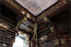 Autriche - Melk - Abbaye bénédictine, bibliothèque