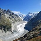 Autumn at Mer de Glace
